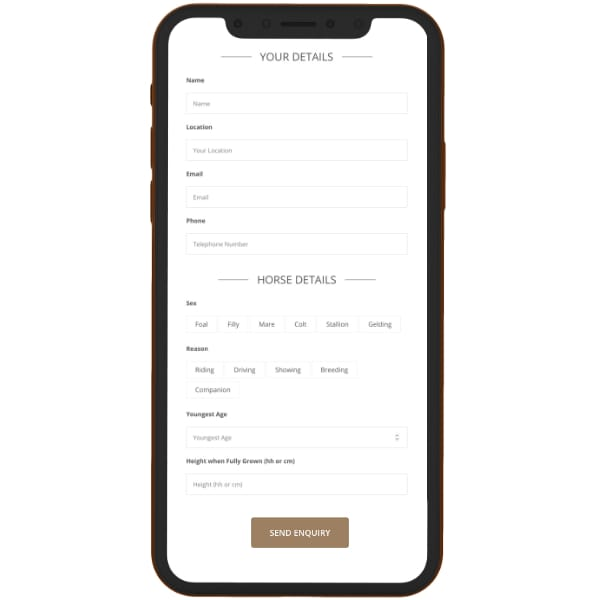 mobile friendly form example